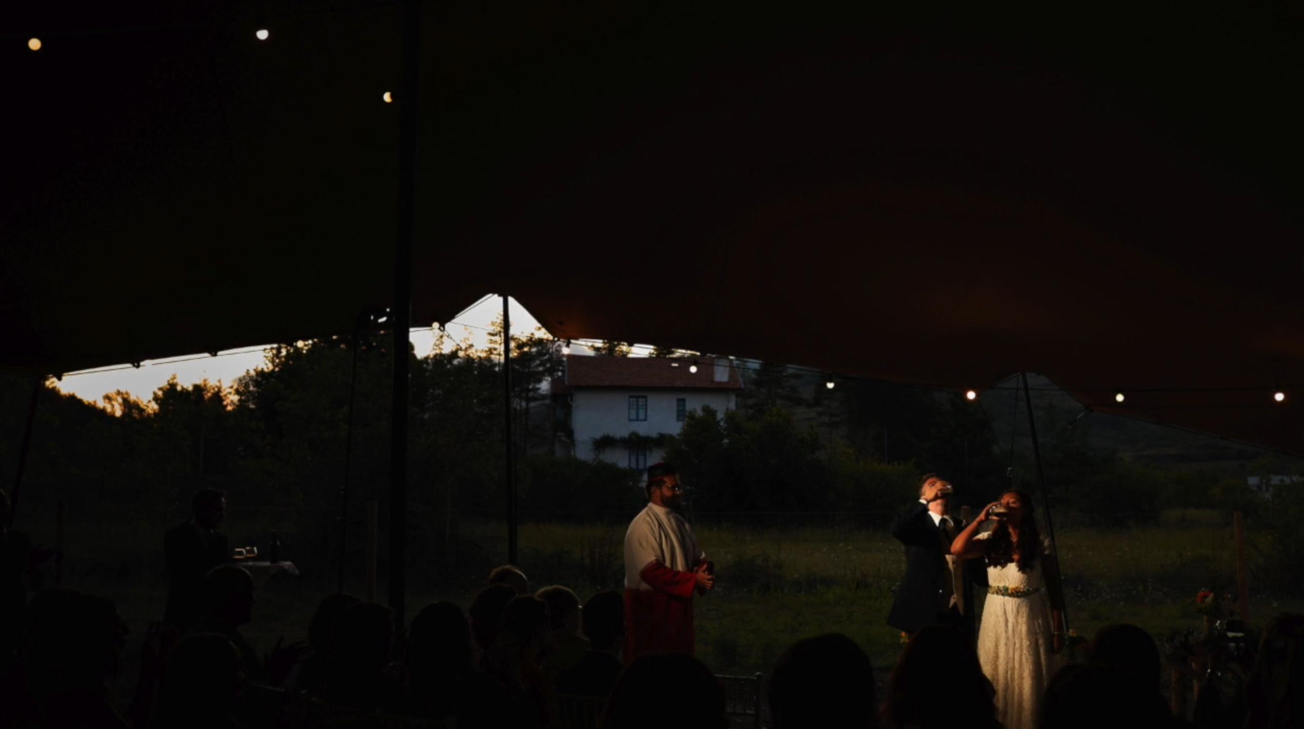 Boda de María y David en La Arboleda del Sur del Echaurren