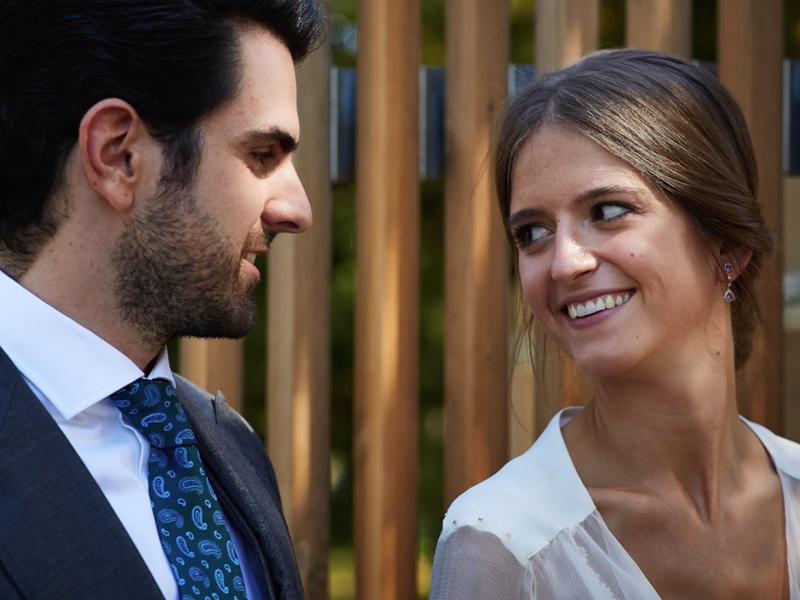 Patricia y Guillermo, boda en un pueblo